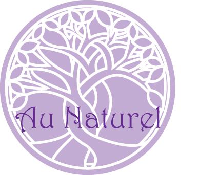 Au Naturel logo - Glass-tonbury Festival